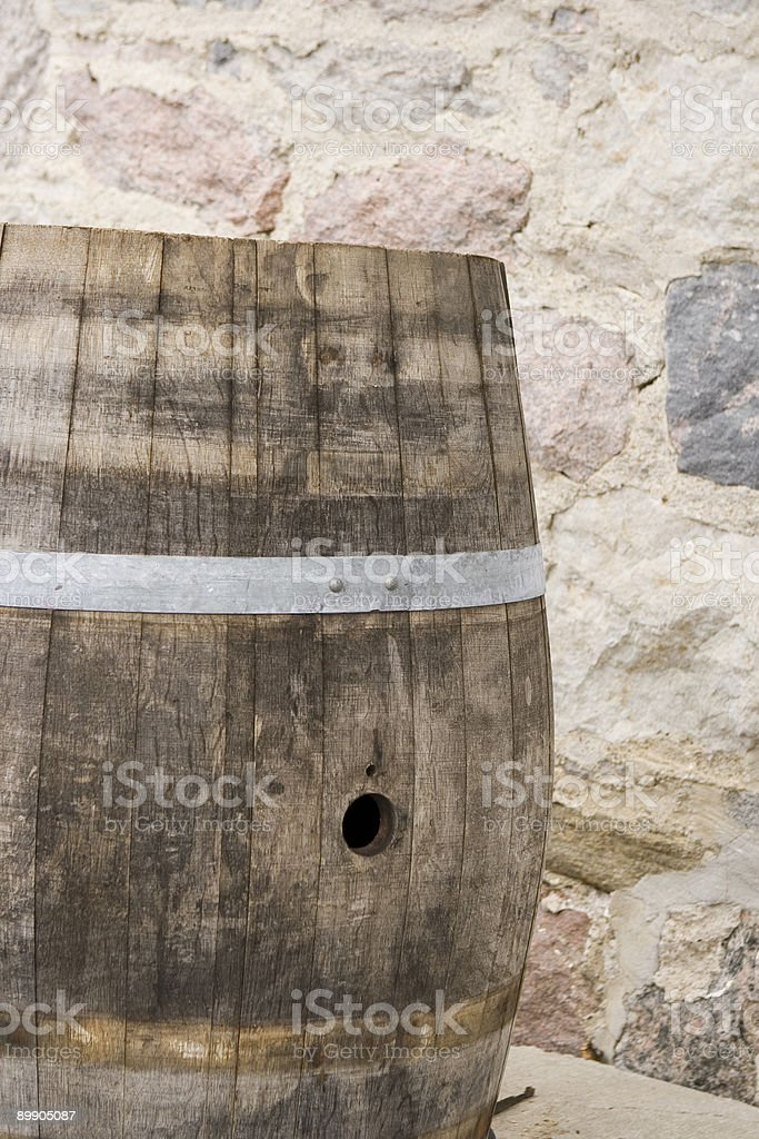 Old Barrel royalty-free stock photo