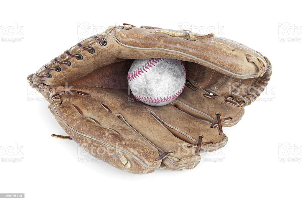 Baseball glove old How to