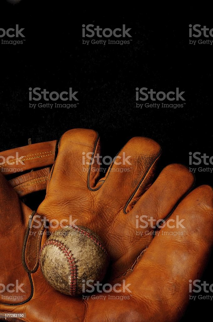 Baseball glove old Vintage