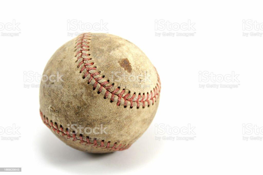 Old Baseball royalty-free stock photo