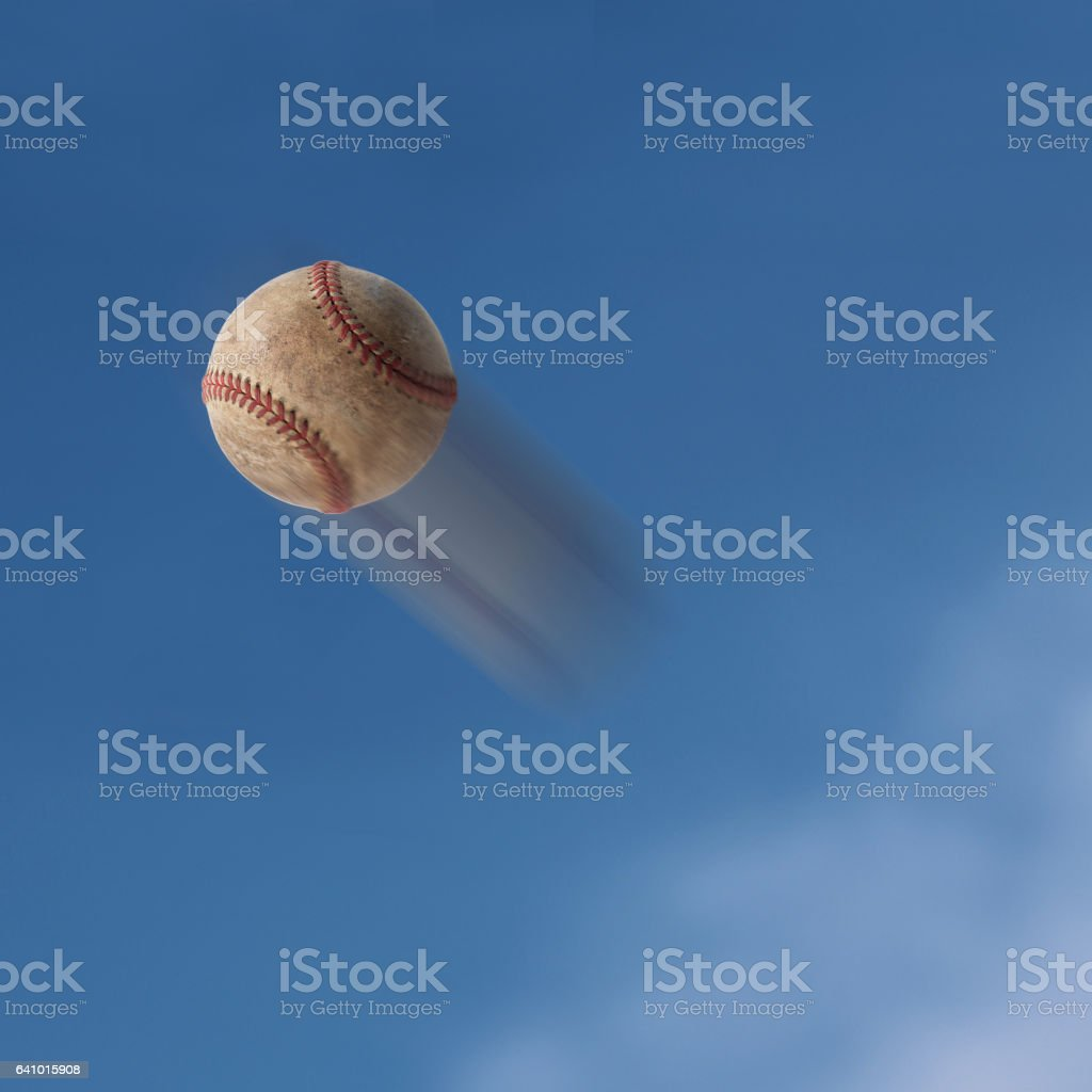 Old baseball stock photo