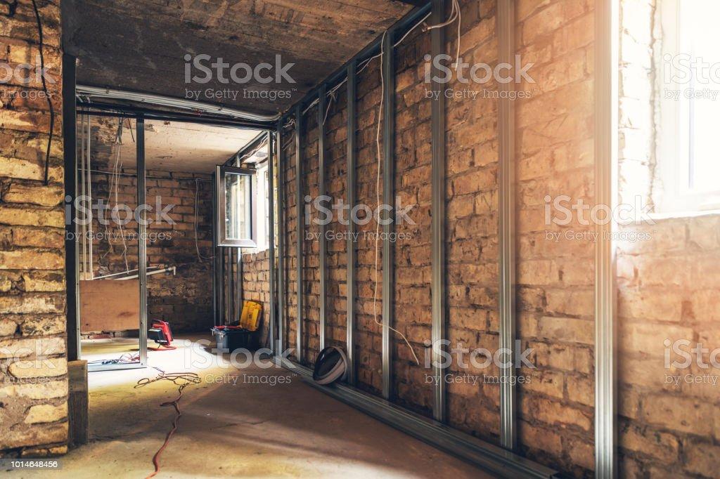 alte Keller Renovierung im Prozess – Foto
