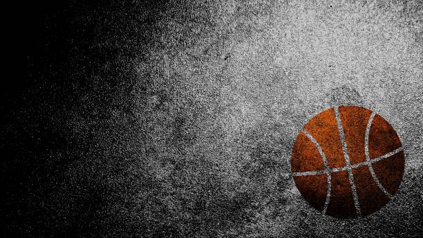 Alte Basketball-Dirty Textur für Sport-Grunge-Background – Foto