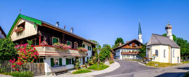 altes bayerisches Bauernhaus – Foto