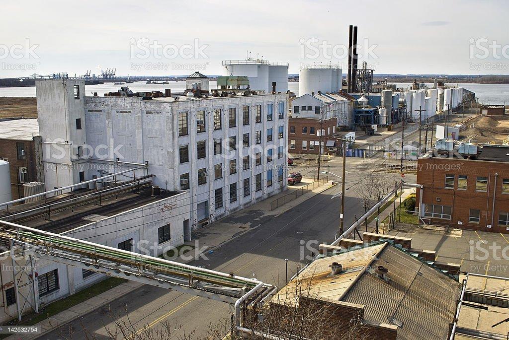 Old Bayonne, NJ stock photo