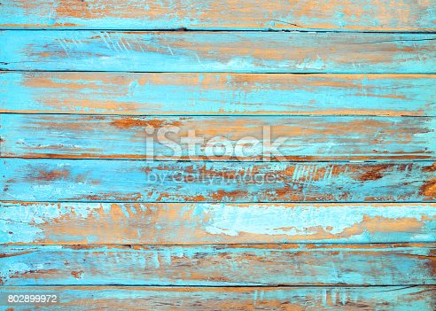 istock Old beach wood background 802899972
