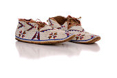 Old Beaded Moccasins
