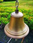 Golden easter bell