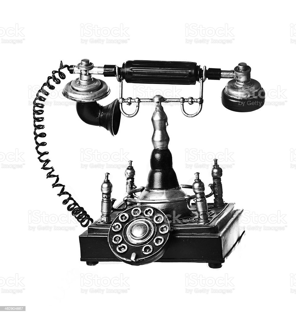 old bell phone stock photo