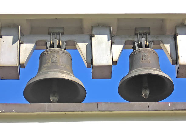 Old bells 2 stock photo