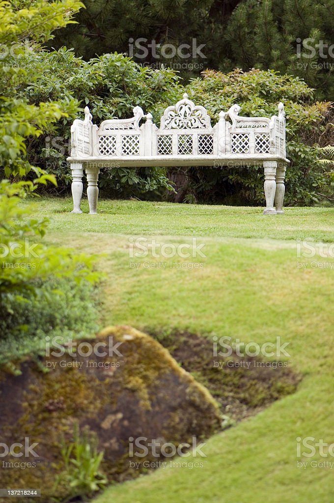 Prime Old Bench In A Garden Stock Photo Download Image Now Cjindustries Chair Design For Home Cjindustriesco