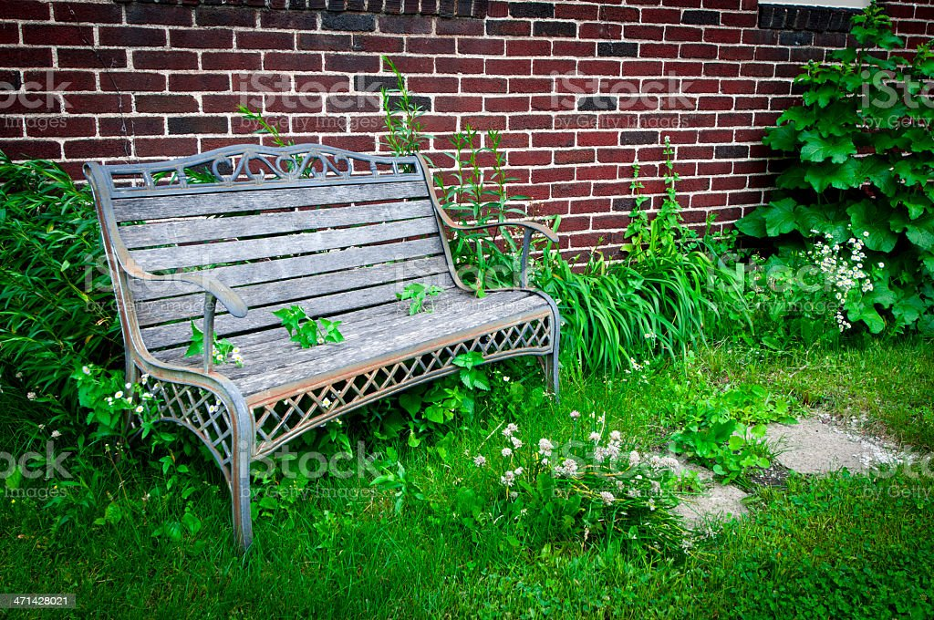 Pleasing Old Bench In A Garden Stock Photo Download Image Now Istock Cjindustries Chair Design For Home Cjindustriesco