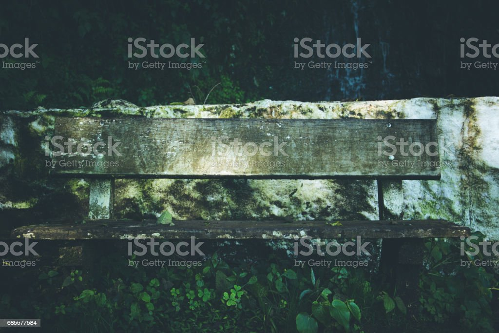 old bench foto de stock royalty-free