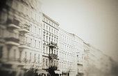 Old, Townhous, Berlin, vintage, street