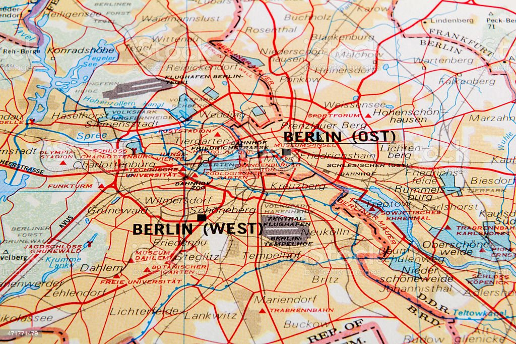 Old Berlin stock photo
