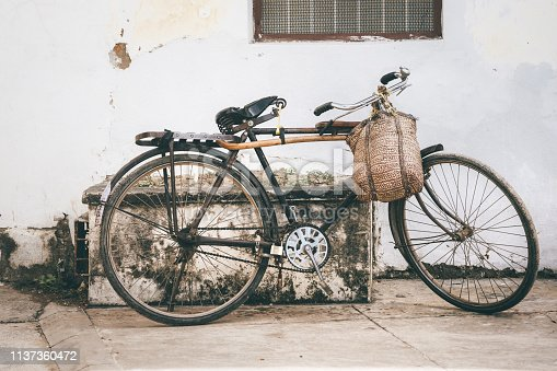Old Bicycle in Zanzibar, Africa
