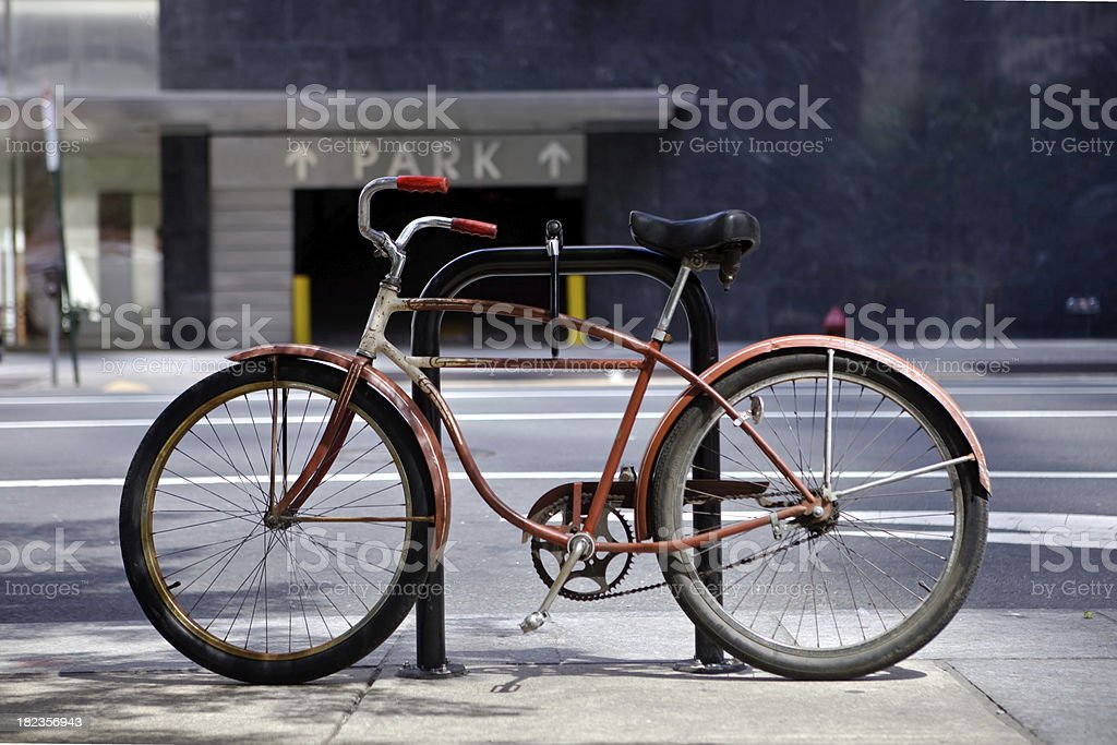 Old Bike stock photo