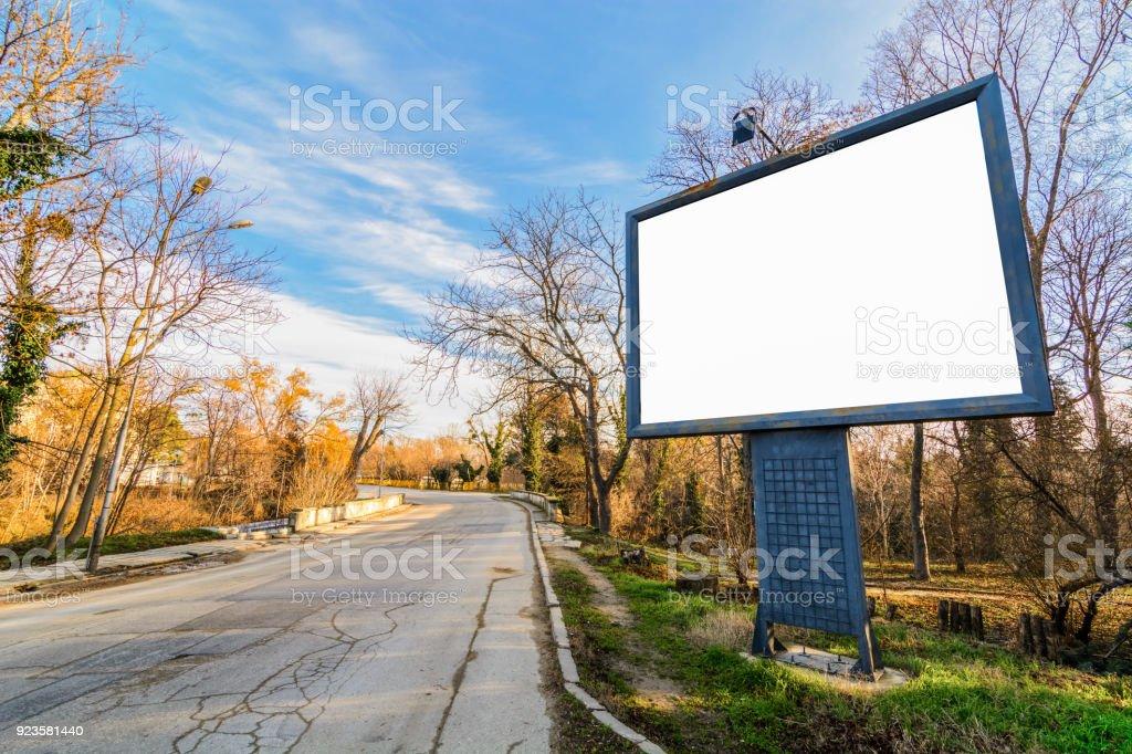 old billboard stock photo