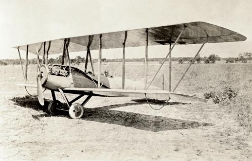Old Bi-Plane