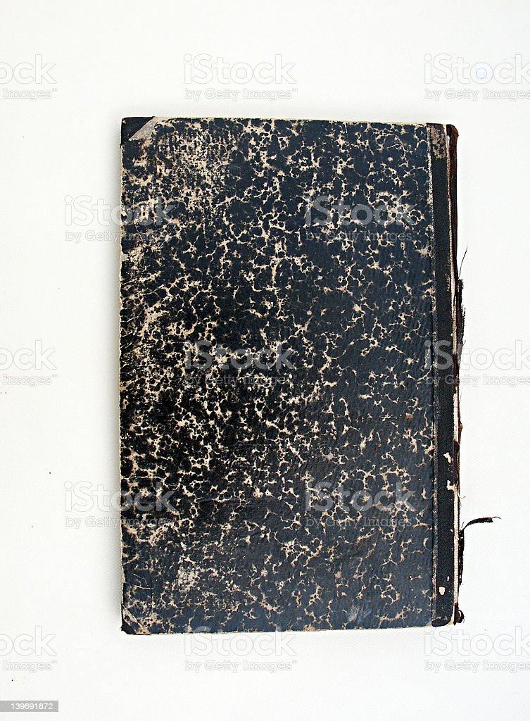 old black book royalty-free stock photo
