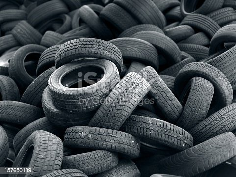 Old used car tires, more tires in my portfolio...