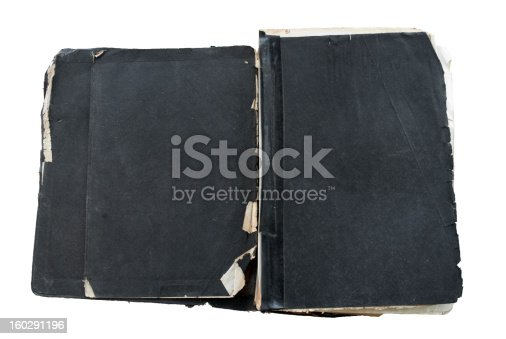 121305595 istock photo old black grungy leather bound bible isolated on white background 160291196