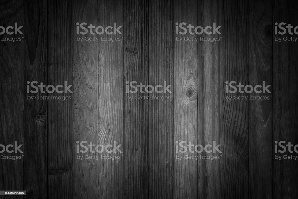 Vieux fond noir en bois tableau noir texture du bois sombre