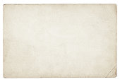 istock Old blank paper isolated 1295201916