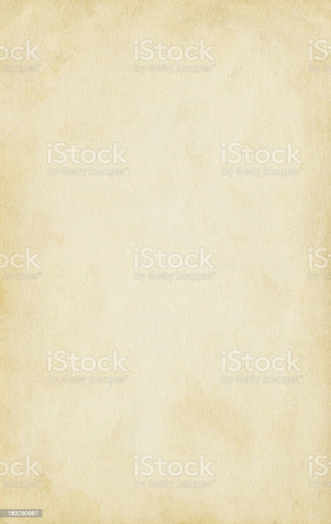 Old blank paper stock photo