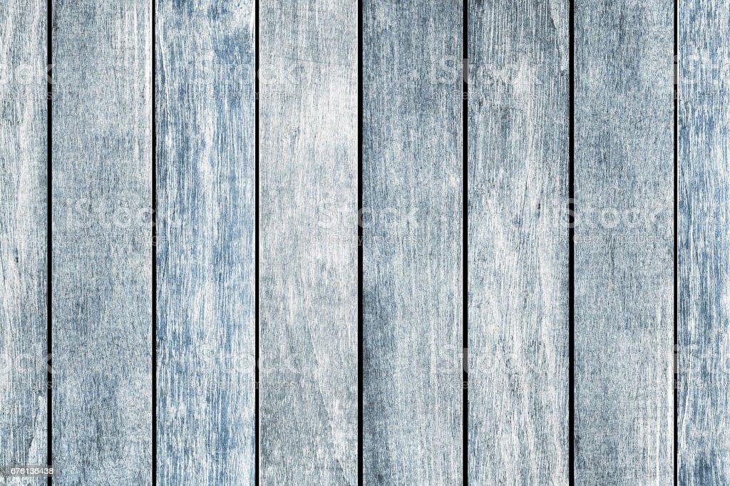 Old Blue Black Woodgrain Boards - foto de stock