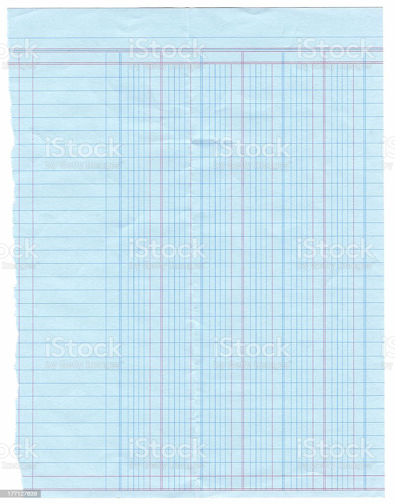 old blue ledger paper stock photo more pictures of accounting