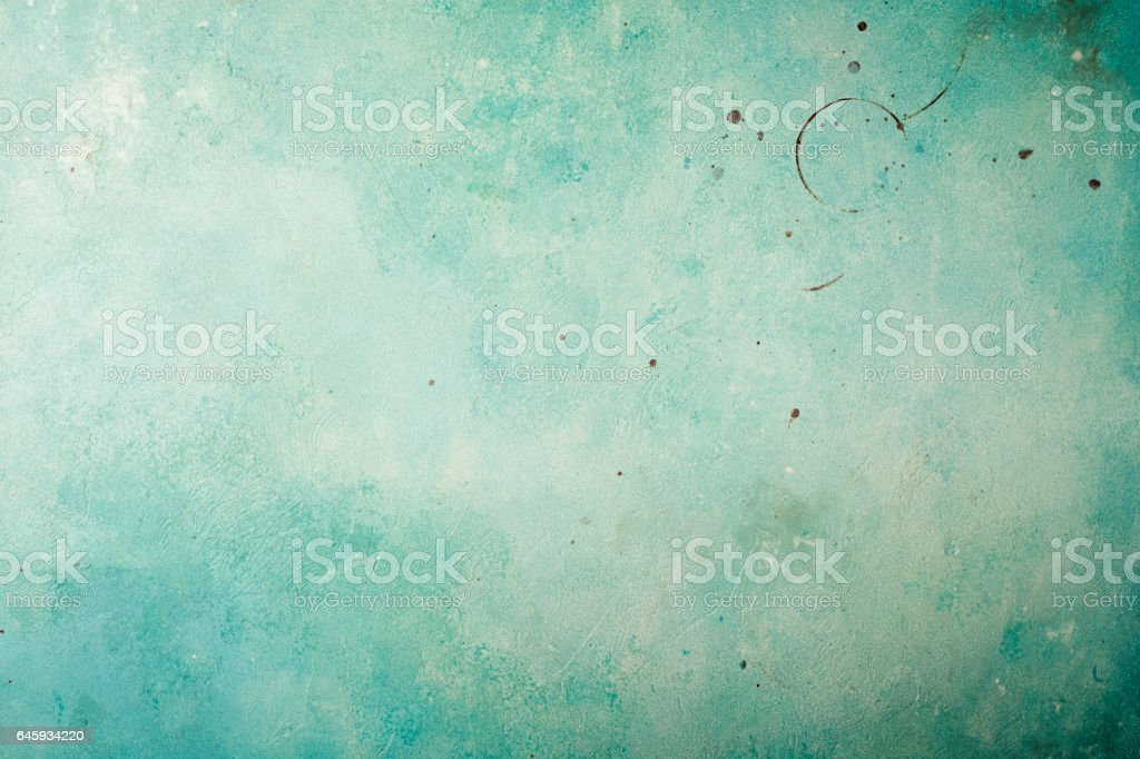 Old blue stained background stock photo