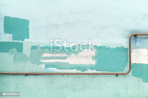 istock old blue wall grunge texture of the concrete surface 664090354