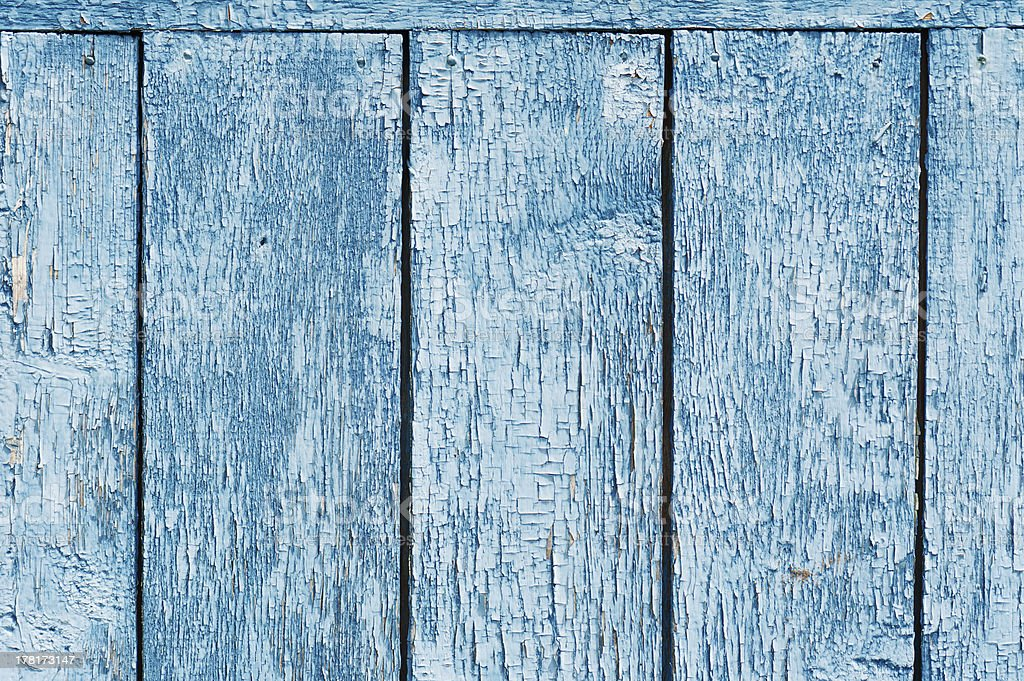 Old blue wood plank background. royalty-free stock photo