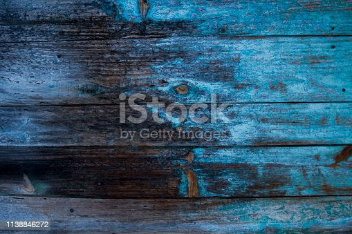 Old distressed wooden background or texture