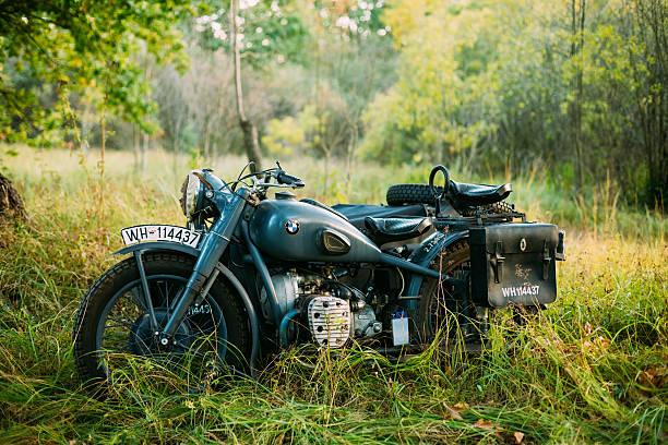 65 Vintage Bmw Motorcycle Stock Photos Pictures Royalty Free Images Istock