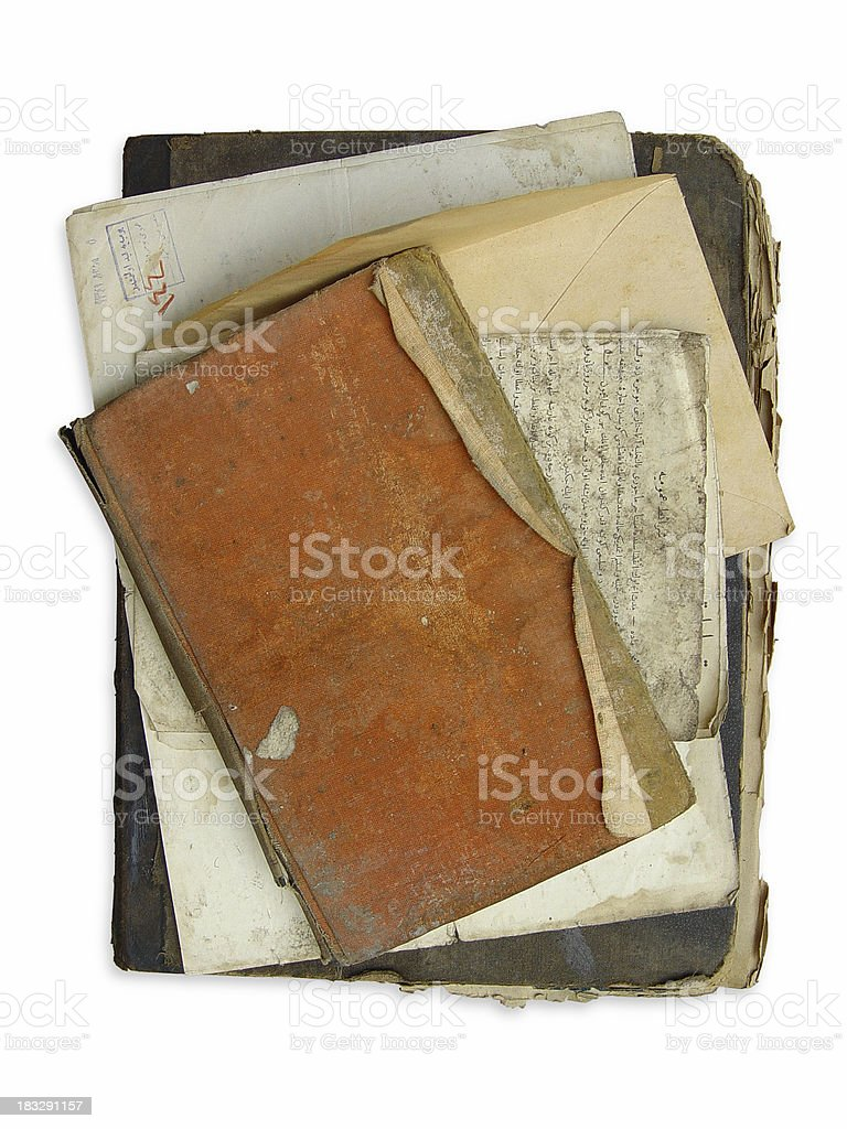 Old Book Background royalty-free stock photo