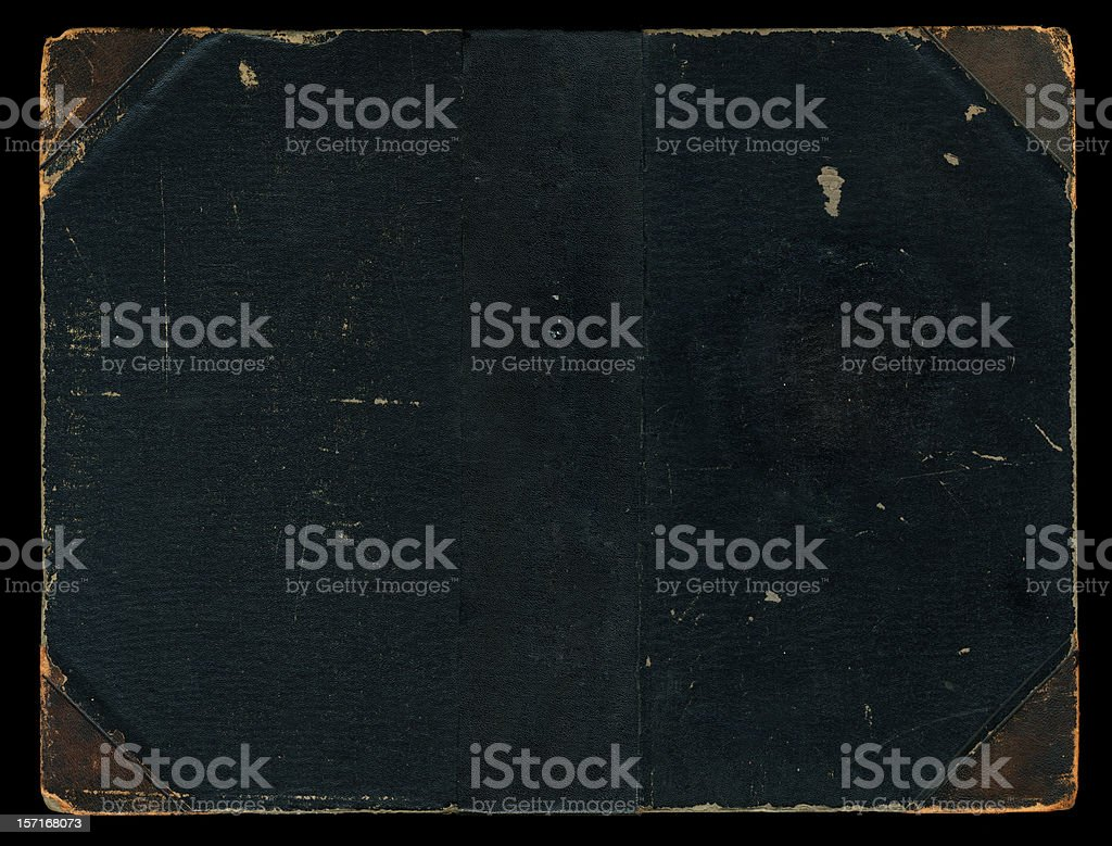 Old Book Cover - 1906 royalty-free stock photo