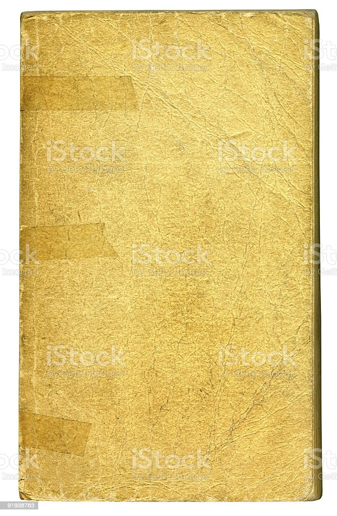 Old Book Cover 6 royalty-free stock photo