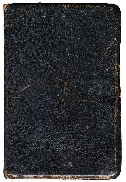 Cubierta de libro viejo grunge - foto de stock