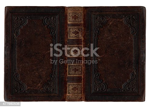 istock Old book cover 477980536