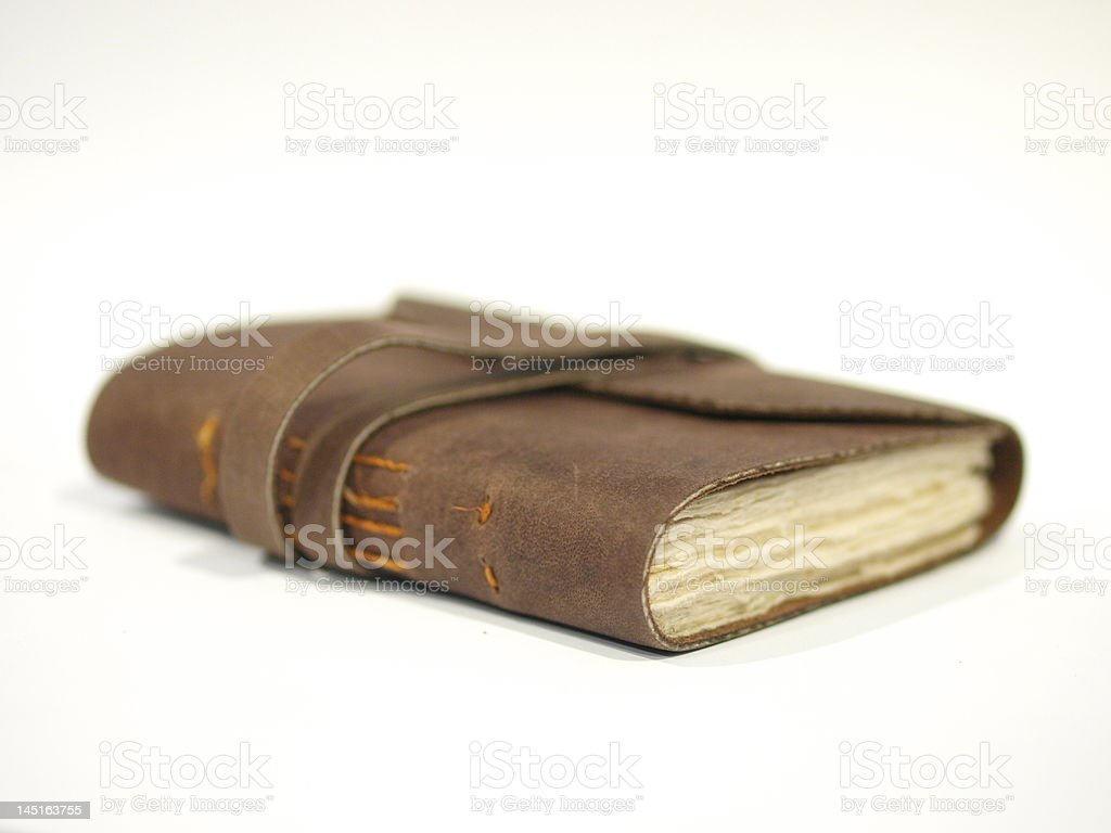 Old Book / Journal royalty-free stock photo
