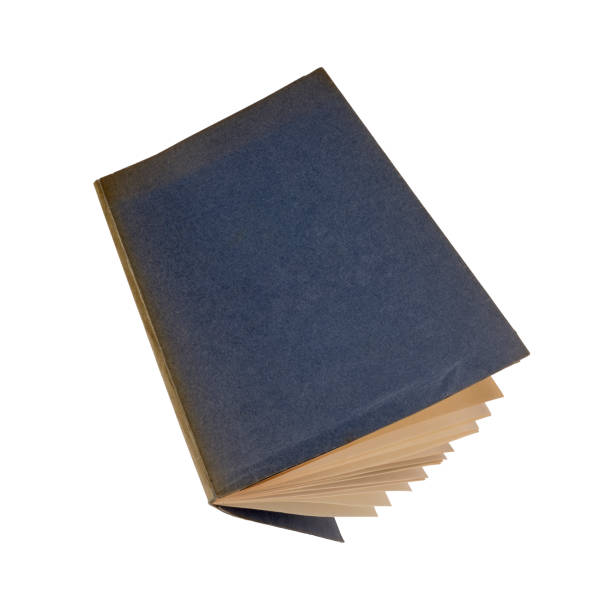 old book, open. stock photo