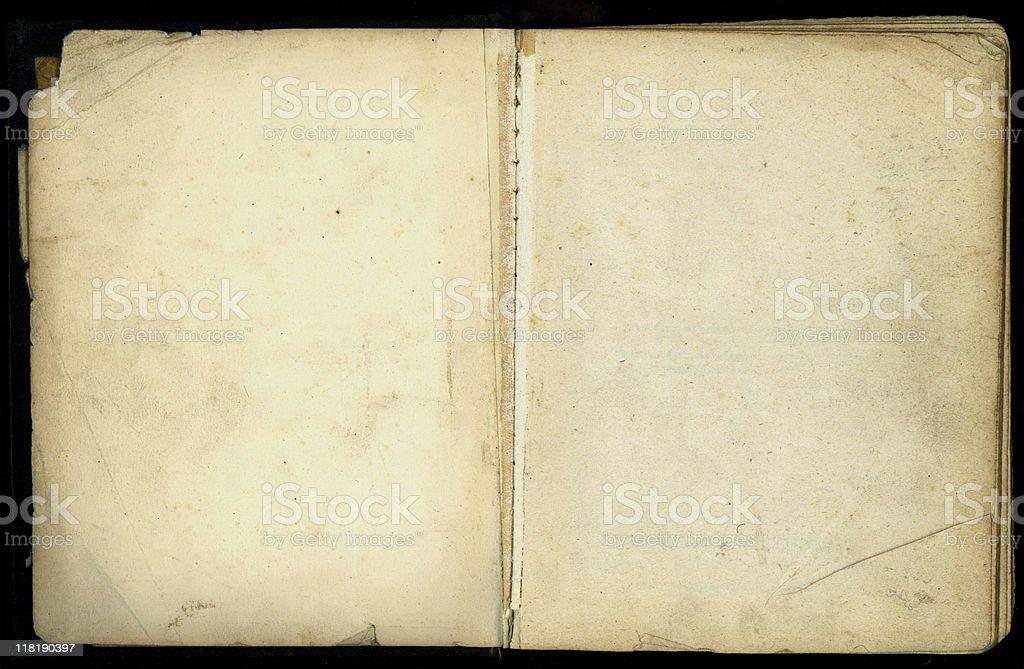 Fotografía de Antiguo Libro Abierto Con Páginas De Orejas Y Perros y ...