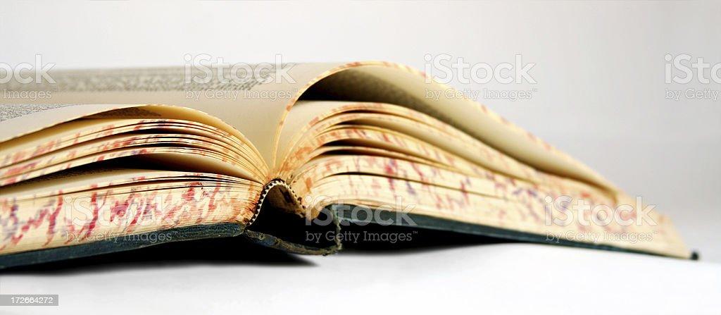 Libro viejo - foto de stock