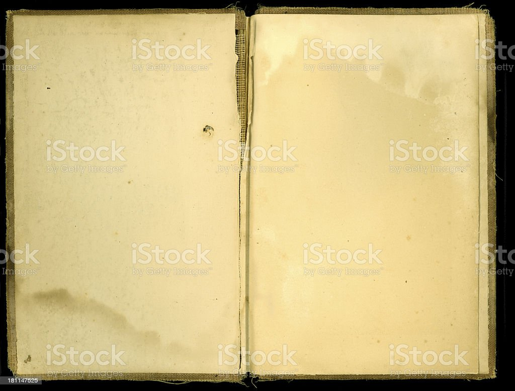 Old Book SUPER HIGH RES 29MP stock photo