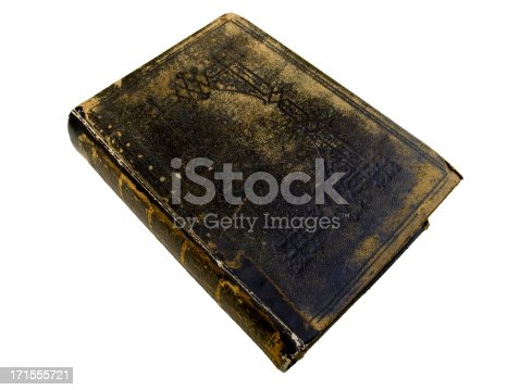 121305595 istock photo Old Book -  Top view 171555721