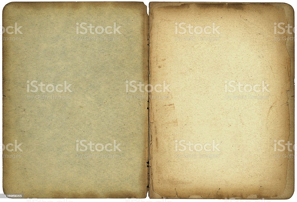 Old booklet royalty-free stock photo