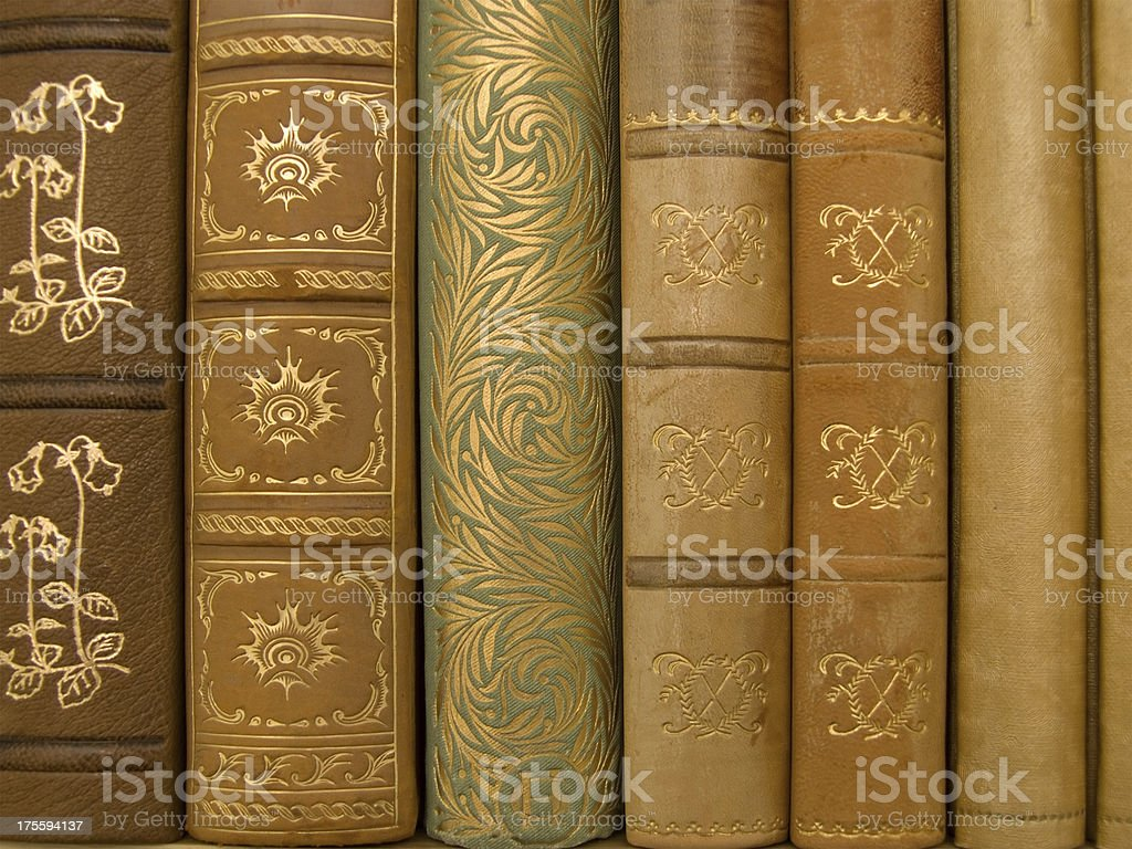 Old Books 2 royalty-free stock photo