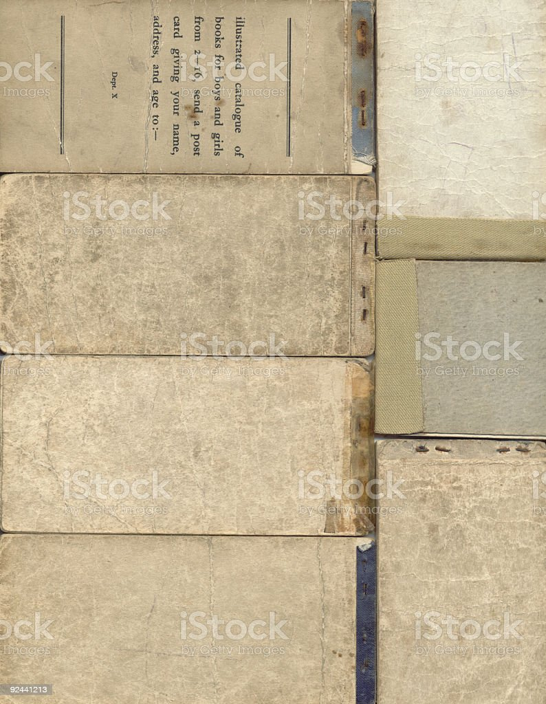Old Books background texture royalty-free stock photo